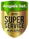 Angie's List Super Service Award - 8+ years